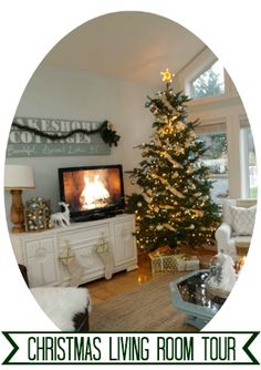 Christmas Living Room Tour