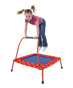 Look at this Folding Trampoline on #zulily today!