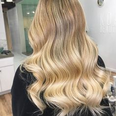 You're solid gold, #T3Women. Silky blonde #T3Inspo via @cristyjeanhair    #Regram via @t3micro