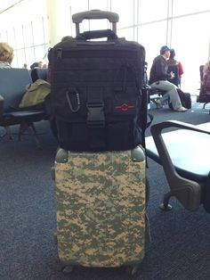 79bb40e45e The perfect air travel carry-on combo! Our Business Backpack fits under  your seat