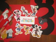 Planning a Mickey Mouse Party - FREE Disney characters link and tips http://HappyandBlessedHome.com