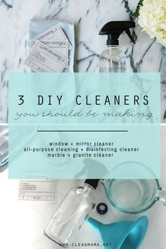 Diy Cleaners 159244536810141495 - 3 DIY Cleaners You Should be Making + Get a Clean Mama Home Essentials Kit for… Source by cleanmama Window Cleaning Tips, Deep Cleaning Tips, Cleaning Recipes, House Cleaning Tips, Natural Cleaning Products, Cleaning Hacks, Green Cleaning, Cleaning Supplies, Glass Cleaning