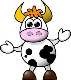 Kráva, Kreslený Film, Legrační, Roztomilý, Tanec