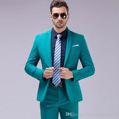 Hot ! Solid Groom Tuxedos One Button Two Pieces Groomsmen Best Man Suits Classic Men's Wedding Tuxedos Jacket+Pants ZD3 Wedding Tuxedos Men Suits Groom Tuxedos Online with $113.15/Piece on Rosemarybridaldress's Store | DHgate.com