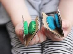 Castanets - could be fun to make while listening to flamenco and then have a dance party.