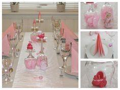 Collage-dåp-rosa-1-2 Table Decorations, Furniture, Home Decor, Decoration Home, Room Decor, Home Furniture, Interior Design, Home Interiors, Interior Decorating