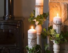 Lavender Cottage in 25 Beautiful Homes. You may remember me telling you about a photo shoot I did last year at Lavender Cottage? Country Cottage Bedroom, Country Cottage Interiors, Cottage Living Rooms, Cottage Homes, Home And Living, Country Cottages, Country Living, Christmas Mood, All Things Christmas