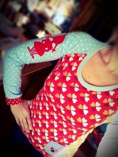 New Shirt from #Ottobre #pattern and @Susanne Firmenich #fabric