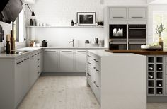 Home improvement retailer Wickes has launched four brand new kitchen ranges to add to its existing showroom collection, creating a stunning range of 28 kitchens.Available to view and order in showrooms now, the newest additions to the Wickes kitchen Kitchen Units, Contempory Kitchen, Kitchen Installation, Kitchen, New Kitchen, Kitchen Fittings, Kitchen Gallery, Kitchen Showroom, Kitchen Style