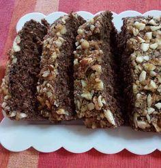 Σοκομπανάνα με κρούστα αμυγδάλου - Dukan's Girls Dukan Diet, Monkey Bread, Cheesecake, Rolls, Desserts, Recipes, Food, Tailgate Desserts, Deserts