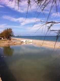 Kiato beach