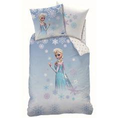 Disney Frozen Elsa Duvet Set - A great bedding set for any fans bedroom - This quilt cover is 100 percent cotton.