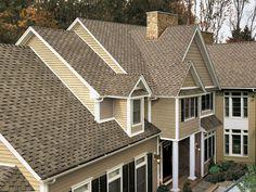 Weathered Wood #gaf #designer #roof #shingles #home