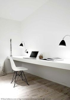 Do you like working in an open-plan office? Most of the times, I like it, I love the buzz and the interaction with everyone but sometimes it also gets a bit too noisy so once a week, I work from home.
