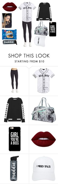 """Hip Hop"" by officialajaxxx ❤ liked on Polyvore featuring HBC Sport, Misbehave, Off-White, Puma, Lime Crime and Nasaseasons"