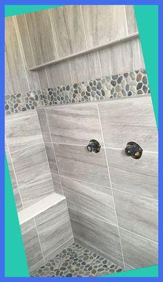 Field Tile: Daltile Linden Point in Grigio Restroom Design, Bathroom Interior, Restroom Remodel, Master Bathroom Decor, Elegant Bathroom, Bathroom Items, Master Bathroom Shower, Bathroom Restoration, Daltile