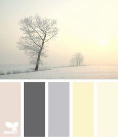 Winter Tints from Design Seeds-another guest/nursery color idea #mombodysoul