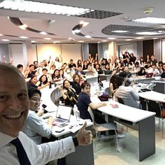 """How to Give a Great #Presentation"""" .... Great memory of teaching MIM students at Thammasat University Official"""
