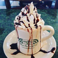 #morning #metrodiner #jax #hotchocolate #breakfast #bemaifoodie