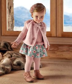 1ffc6def328 Colección Baby. Baby Girl FashionToddler FashionToddler OutfitsToddler Girl  StyleKids ...