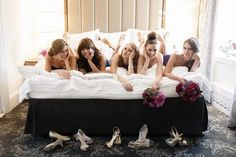 the bedding of a bridal party