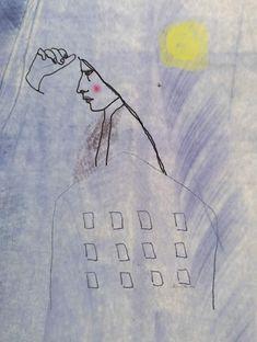 Illustration. India Toctli Madrid, Illustration, Art, Indian Illustration, Profile, Illustrations, Art Background, Kunst, Performing Arts