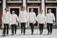 Destination Wedding Event Planning Ideas and Tips Barong Tagalog Wedding, Barong Wedding, Filipiniana Wedding Theme, Filipiniana Dress, Filipiniana Modern, Gown Wedding, Wedding Groom, Wedding Attire, Wedding Dresses