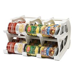 FIFO 30-can Mini Food Storage Can Tracker | Overstock.com Shopping - The Best Deals on Shelving