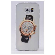 Samsung Galaxy S6 Edge Saat Desenli Silikon Kılıf 5 -  - Price : TL14.90. Buy now at http://www.teleplus.com.tr/index.php/samsung-galaxy-s6-edge-saat-desenli-silikon-kilif-5.html