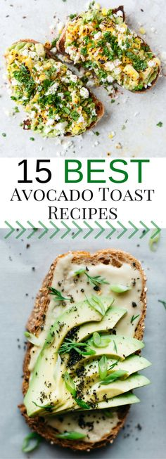 Best Avocado Toast | Avocado Toast Recipes | Healthy Food, Healthy Breakfast