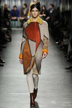 wearing a Picasso. Missoni RTW Fall 2014