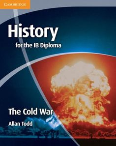 An exciting new series that covers the five Paper 2 topics of the IB 20th Century World History syllabus. This stimulating coursebook covers Paper 2, Topic 5, The Cold War, in the 20th Century World History syllabus for the IB History programme.