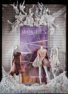 Alexander McQueen Savage Beauty Window © Ricky Zehavi 2011
