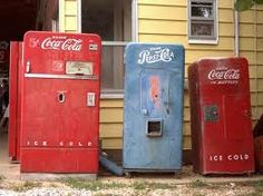 vintage coke machines