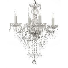 The Venetian all-crystal chandelier is decorated beautifully with crystals that capture and reflect the light of candle bulbs. The crystal glass arms of this chandelier provide a timeless elegant perfect for your home.