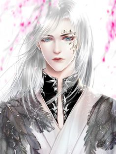 Possible Toska 1 Fantasy Art Men, Anime Art Fantasy, Beautiful Fantasy Art, Hot Anime Boy, Cute Anime Guys, Anime Love, Chinese Artwork, Chinese Drawings, Chica Fantasy