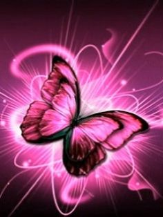 Pink Butterfly Backgrounds | Pink Butterfly wallpapers to your cell phone - abstract art butterfly ...