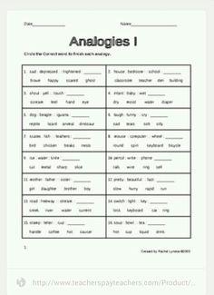 Groundhog Day Verbal Analogies: EnchantedLearning.com