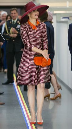 """anythingandeverythingroyals:  Queen Maxima opened the """"Design Derby:  Netherlands-Belgium (1815-2015)"""" at the Boijmans Museum, Rotterdam, June 19, 2015"""