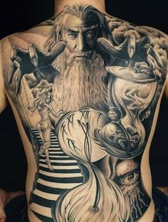 Nowadays, high quality tattoos tend to be viewed as high-end works of art, and with fine art, a lot of times you may need a big canvas. So what better canvas for a tattoo is there than a back? Here... [ read more ]