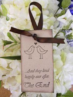 wedding wish tree tags