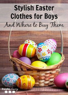 Stylish Easter Clothes for Boys and Where to Buy Them