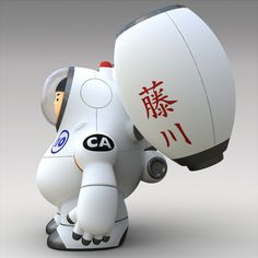 Rocket Boy by Norio Fujikawa, via Behance