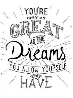 Grandes sueños: Pantalla de pósteres por Ryan Lee