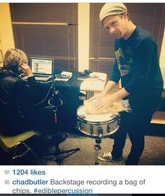 Jon's face & the caption of this pic are TOO FUNNY!!!<<< i have a deep appreciation for the instruments they use