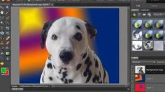How to Change a Background in Photoshop Elements, via YouTube.