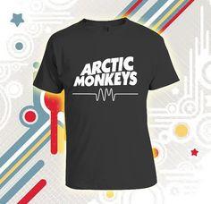 Arctic Monkeys Tshirt  Custom Tshirt print screen by Sendikodawuhh, $16.99