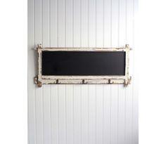 Shabby Cottage Chalkboard Wall Organizer: Online Shopping Store – Plaid Parasol
