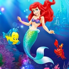 DIY Diamond Painting (Disney Ariel the Mermaid)! This is a great gift for kids who love Ariel the mermaid 😍 🧜♀️🧜♀️🧜♀️💕💕💕 Ariel Disney, Disney Kawaii, Mermaid Disney, Disney Little Mermaids, Ariel The Little Mermaid, Disney Art, Walt Disney, Little Mermaid Painting, Image Princesse Disney