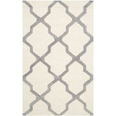 Safavieh Cambridge Collection CAM121Y Handmade Ivory and Silver Wool Area Rug, 2 feet by 3 feet (2' x 3') Safavieh http://www.amazon.com/dp/B00NODPOT2/ref=cm_sw_r_pi_dp_SRY2vb1J057GY